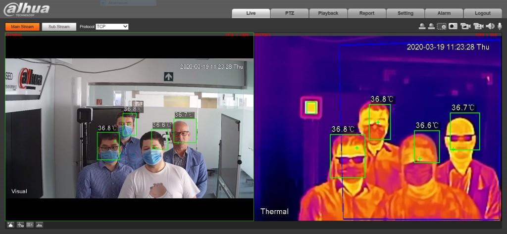 Már Magyarországon is elérhető a mesterséges intelligenciával ellátott hőkamerás testhőmérséklet-mérő rendszer