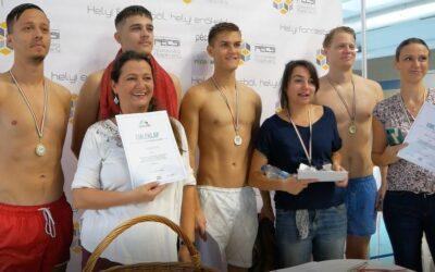 """""""Swimathon Pécs 2021"""" – Hat jó ügy, boldog résztvevők, eredményes záróesemény"""